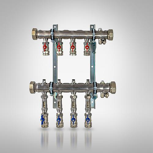 Rozdzielacz DN 50 ze stali nierdzewnej typ 38 KLV 25 (32)