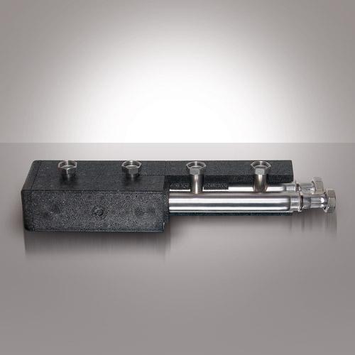 Kolektor kotłowy ze stali nierdzewnej STRAWI 125 VA z izolacją